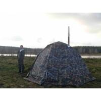 Универсальная мобильная баня палатка УП 1 размеры (2м*3.5м)