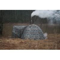 Мобильная баня палатка зимняя УП 3 с тамбуром
