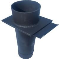 Шибер Для регулировки горения газов Сталь 4,5 мм