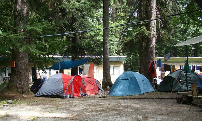 отдых в горах с палаткой