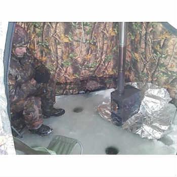 зимняя палатка с печкой